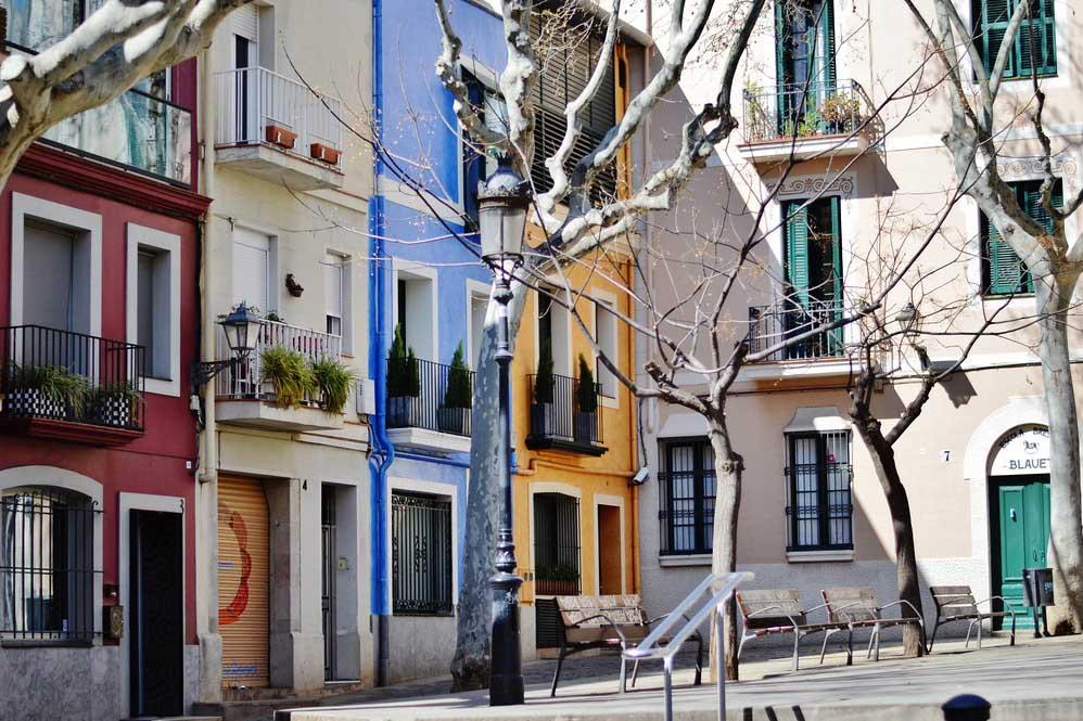 Район Сарриа Сант Жервази в Барселоне