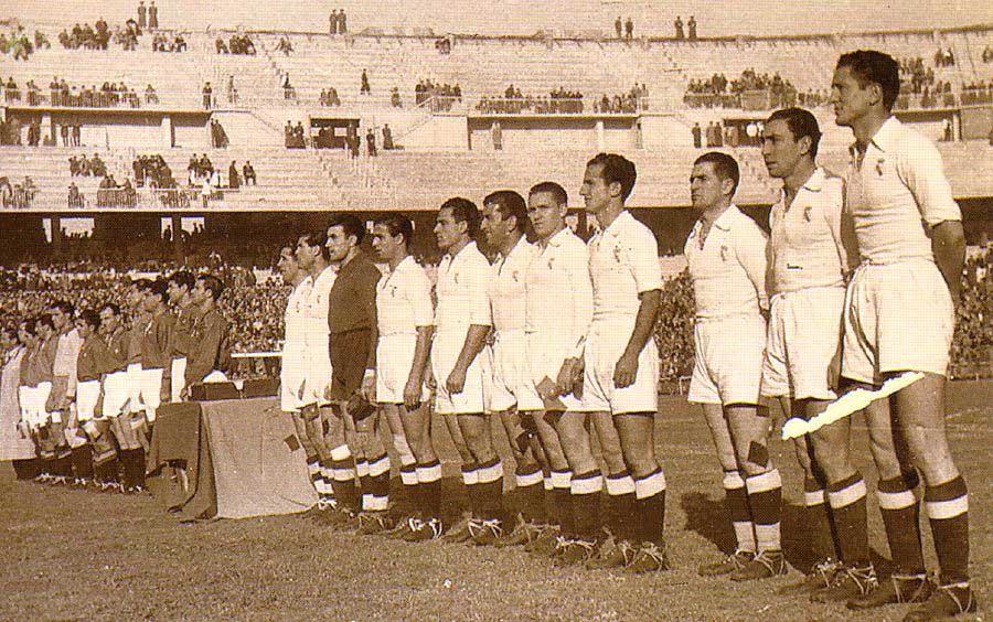 История стадиона Сантьяго Бернабеу