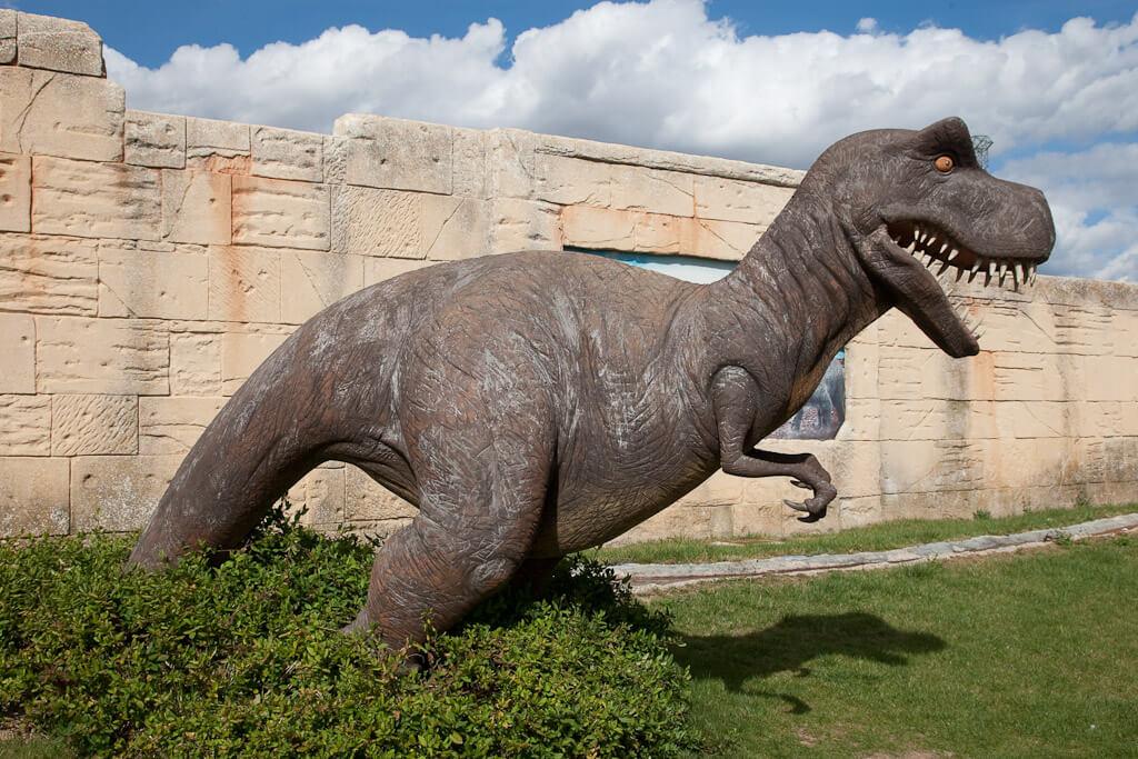 Парк с динозаврами в Испании