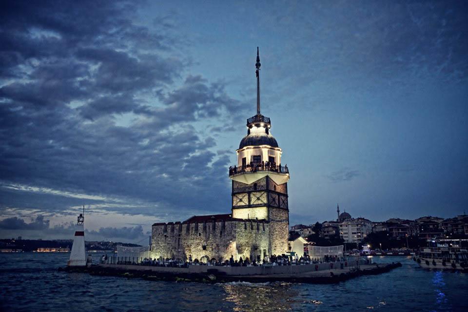 Ресторан Kız Kulesi в Девичьей башне, Стамбул