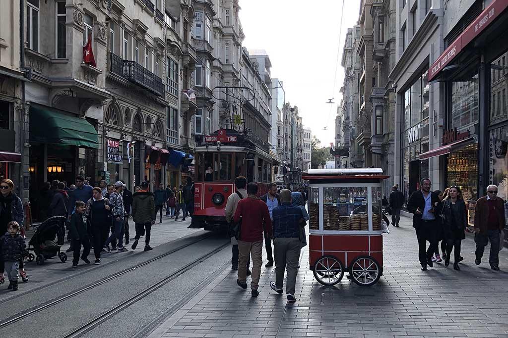Трамваи Стамбула, ретро трамвай