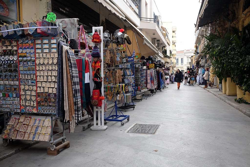 Рынок Монастираки, описание
