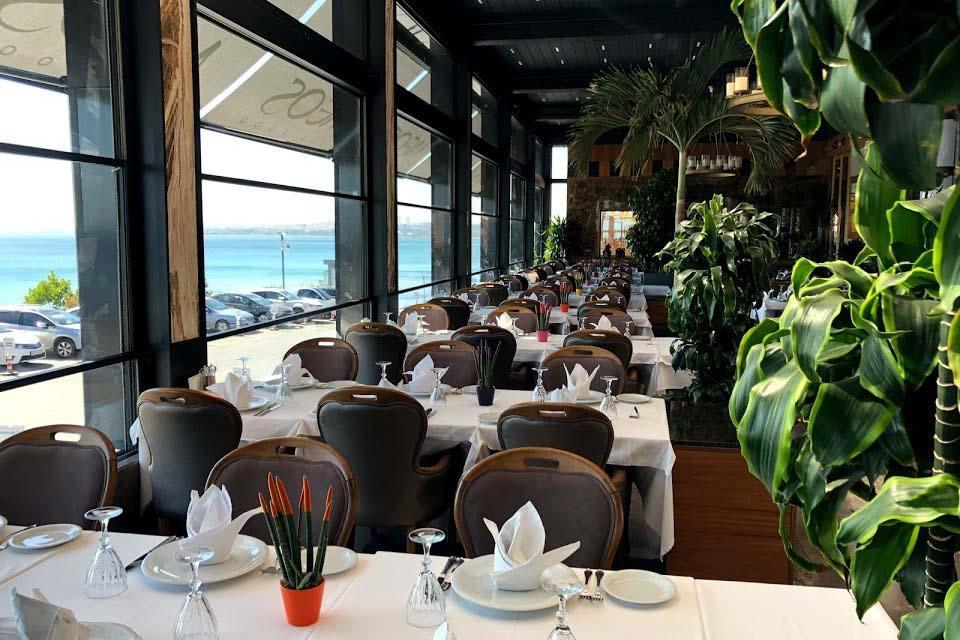 Морепродукты в ресторане Стамбула