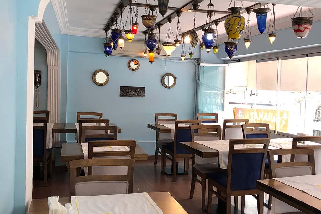 Рыбный ресторан в Стамбуле