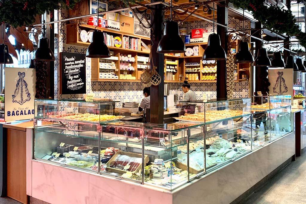 Где можно купить продукты в Мадриде