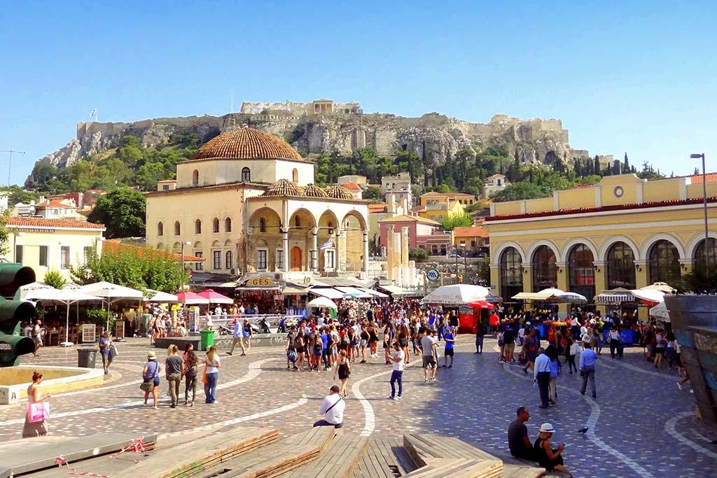 Достопримечательности Афин — Рынок Монастираки, фото