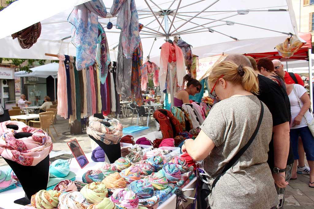 Рынок в городе Инка, Майорка