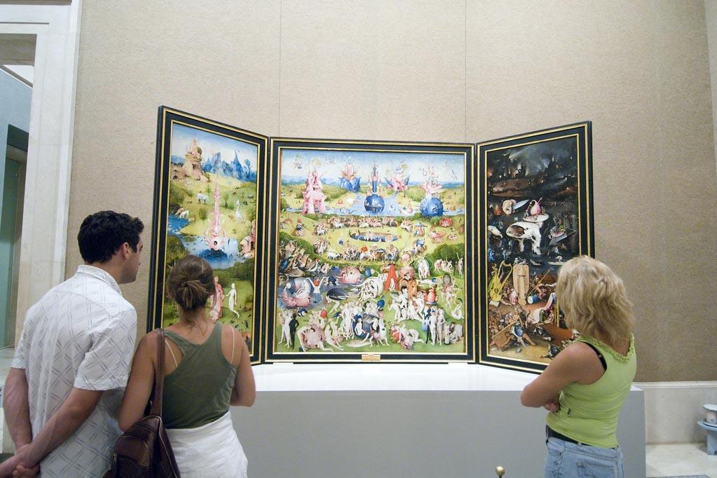 Картины известных художников в музее Прадо, Мадрид