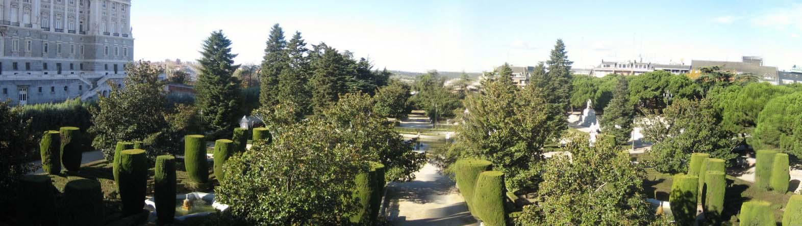 Мадрид — сады Сабатини