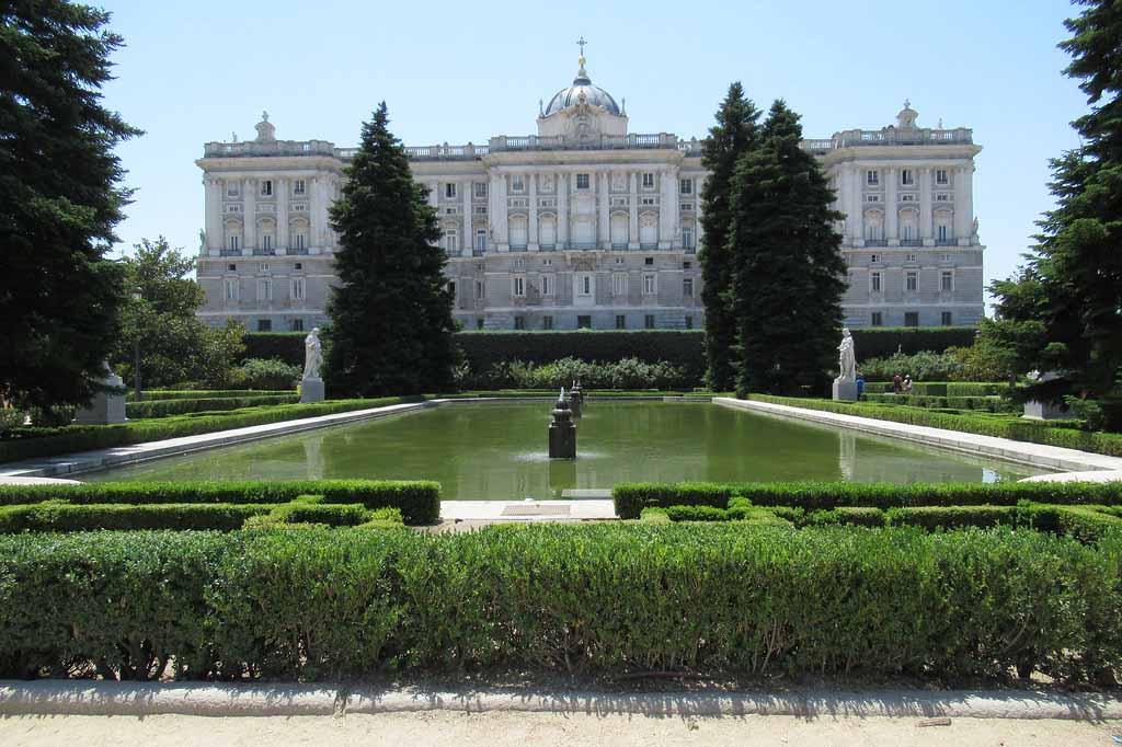 Как добраться до садов Сабатини в Мадриде