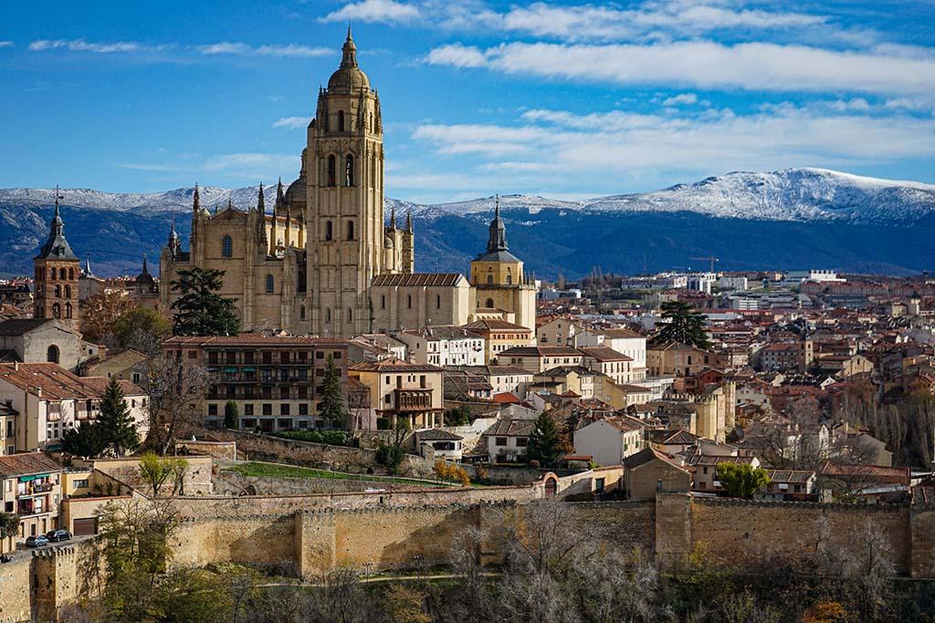 Сказочный замок недалеко от Мадрида
