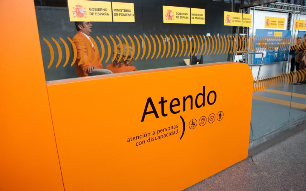 Дополнительные услуги жд дороги Испании