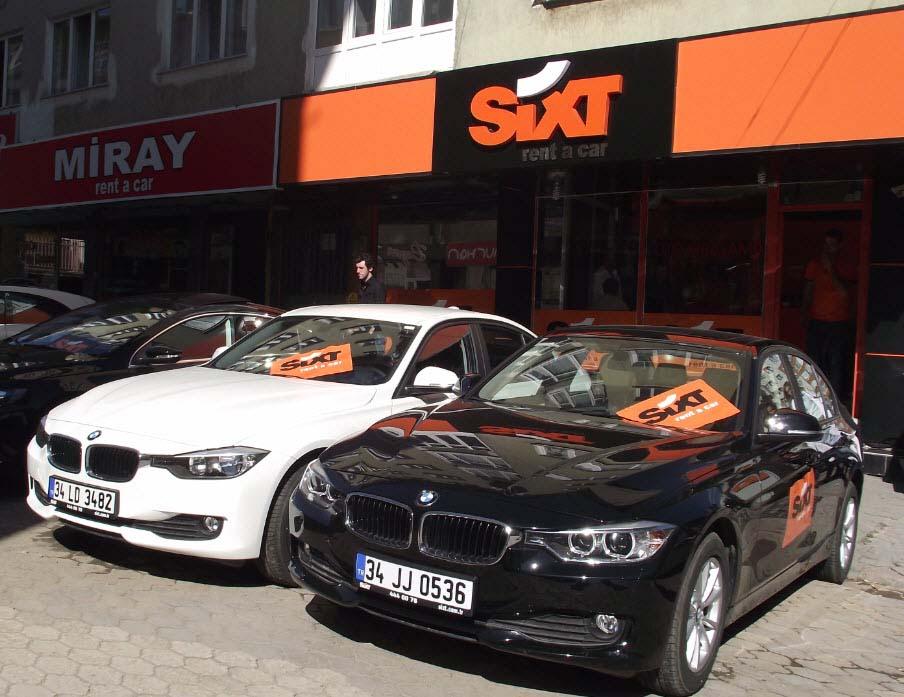 Прокат авто в Турции