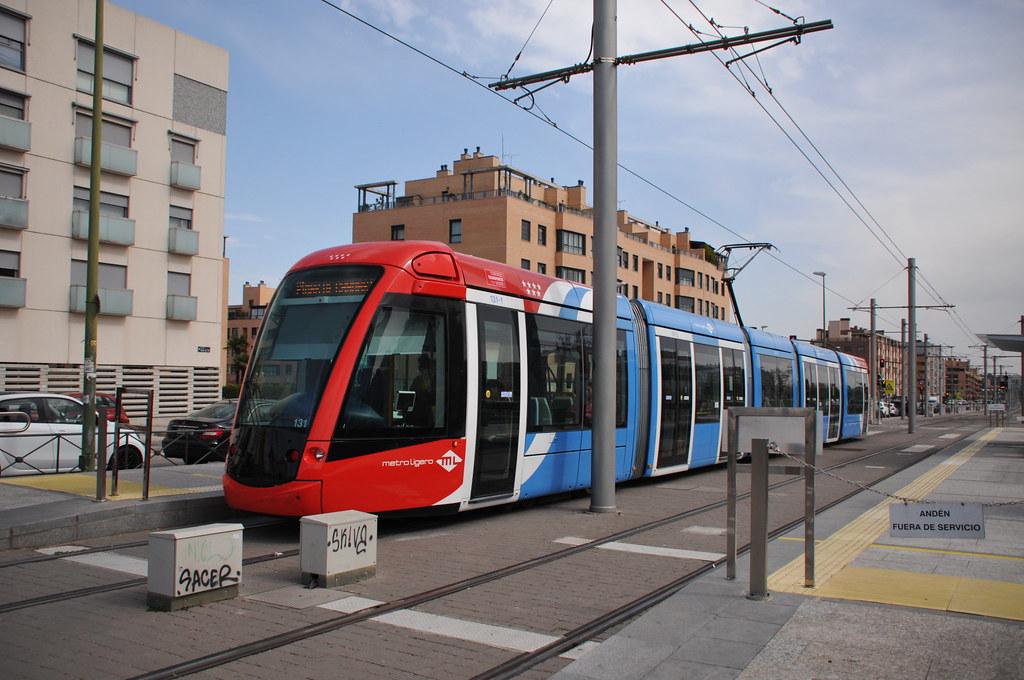 Трамвай в Мадриде