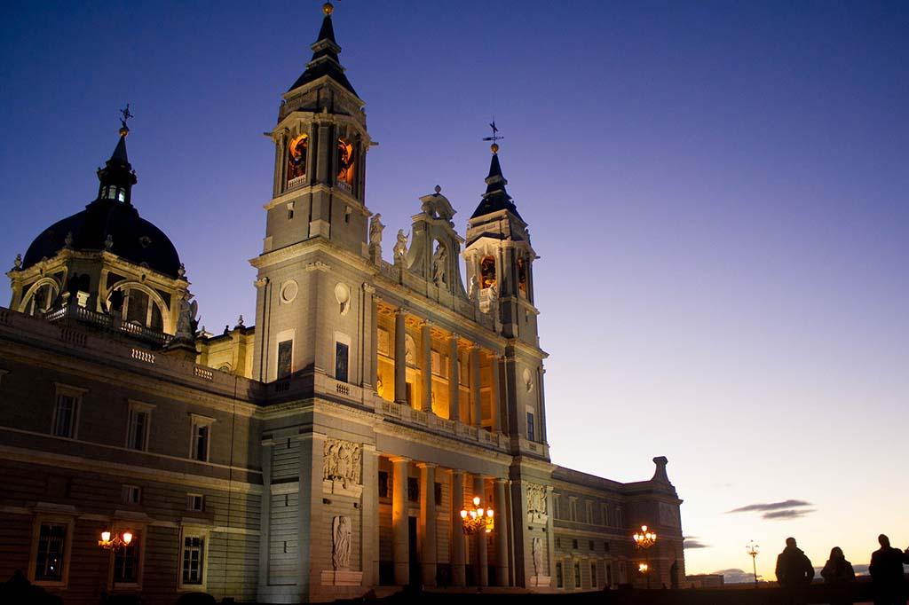 Кафедральный собор Альмудена Мадрид