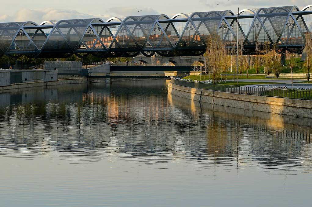 Пешеходный мост Аргансуэла — Мадрид