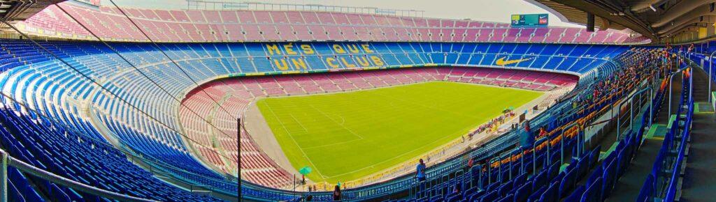 Главный стадион ФК Барселона Camp Nou