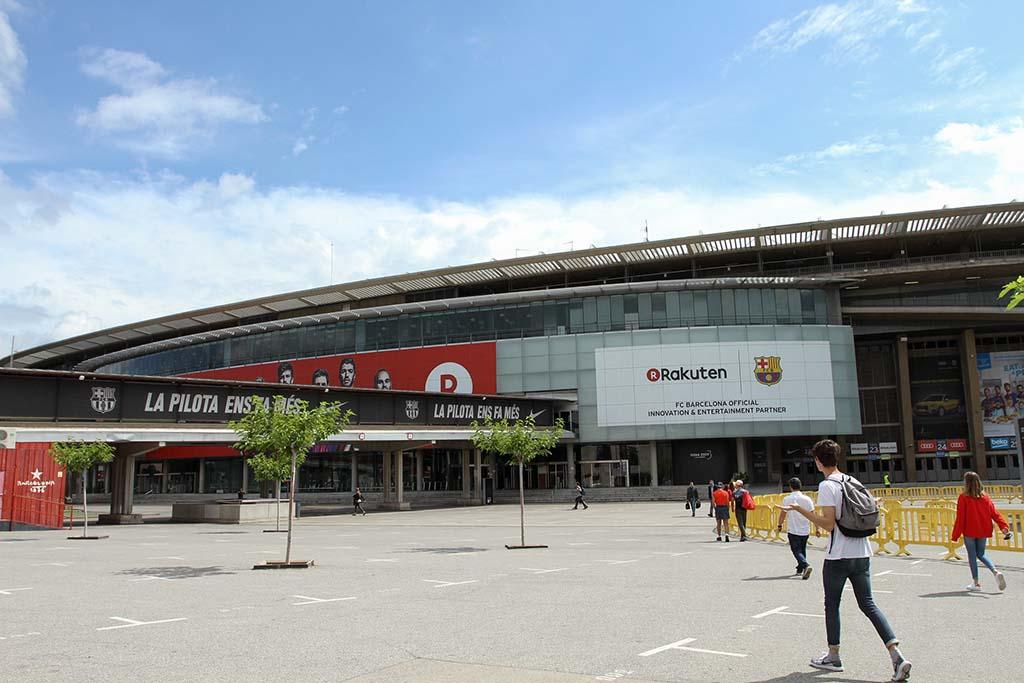 Как добраться до стадиона Камп Ноу