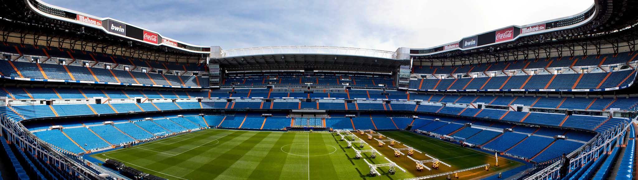 Сантьяго Бернабеу, стадион в Мадриде