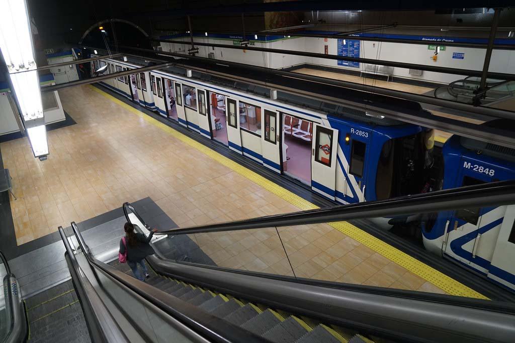 Городской транспорт в Мадриде