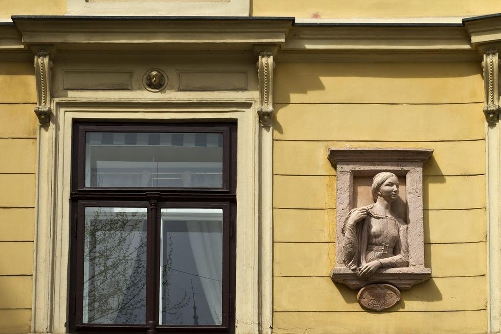 Возлюбленная Юлия поэта Прешера в Любляне
