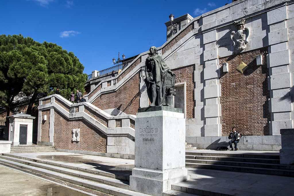 Сады Саботини, Мадрид — что посмотреть