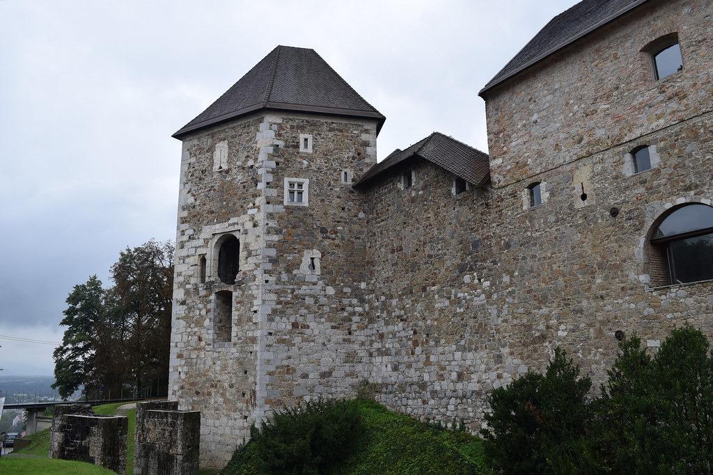 Ljubljana Castle — достопримечательность Любляны