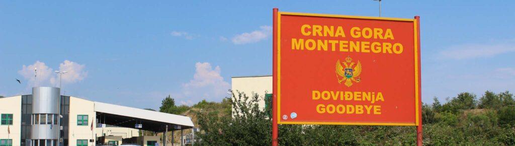 Таможня Черногории, виза в Черногорию