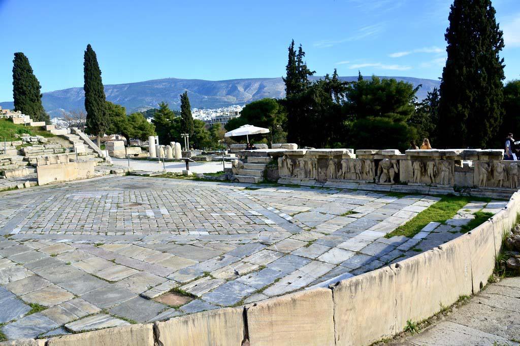 Театр Диониса, фото,  Афины