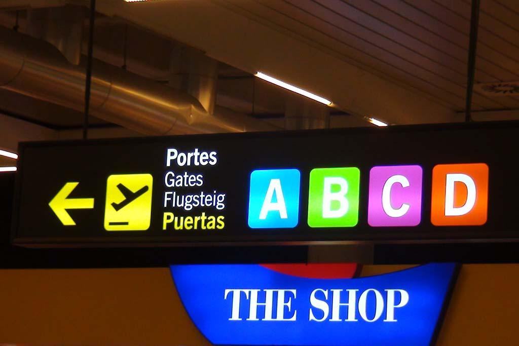 Терминалы в аэропорту Пальма де Майорка, Испания
