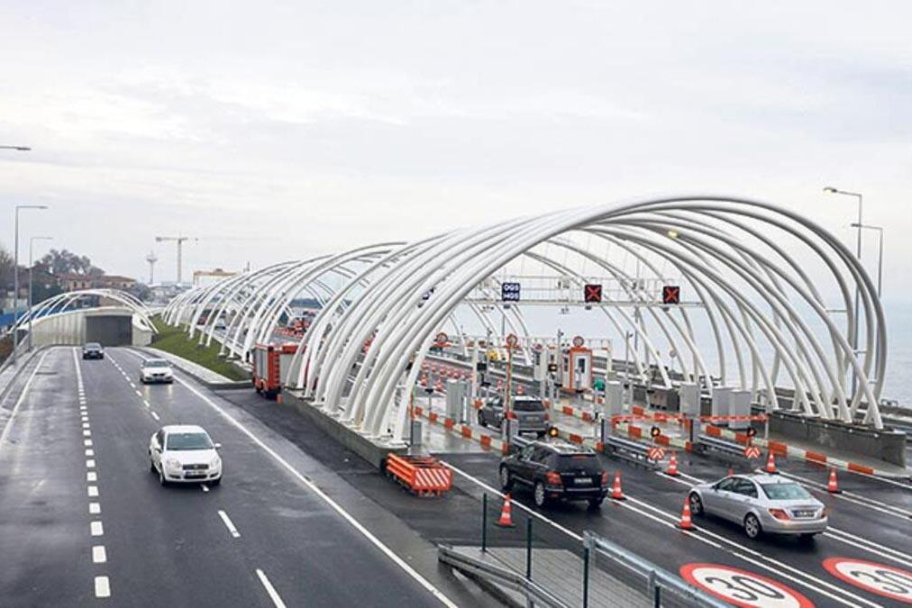 Тоннель Avrasya в Турции