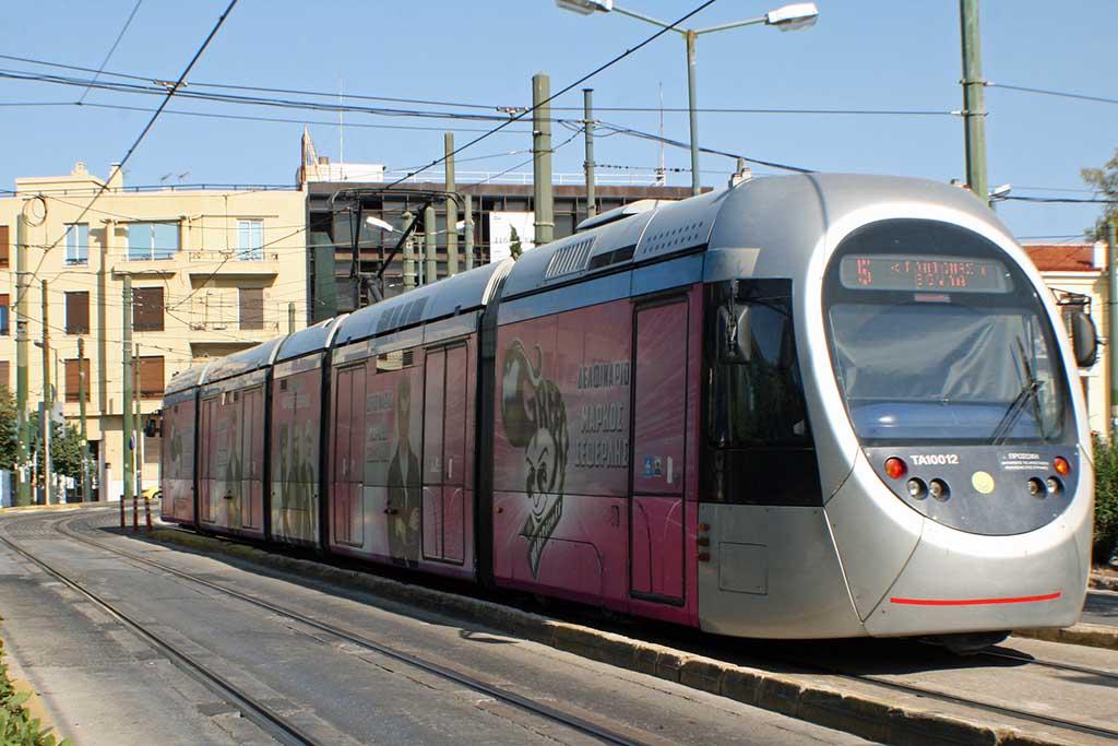 Транспорт Афин, трамвай