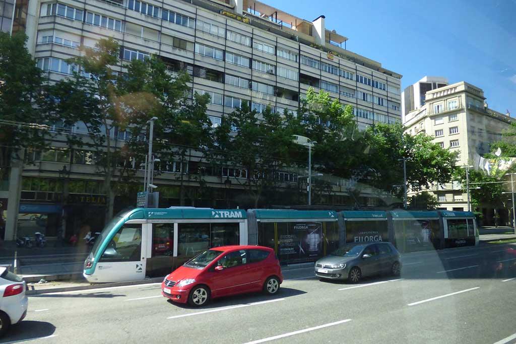 Транспорт Барселоны — трамвай