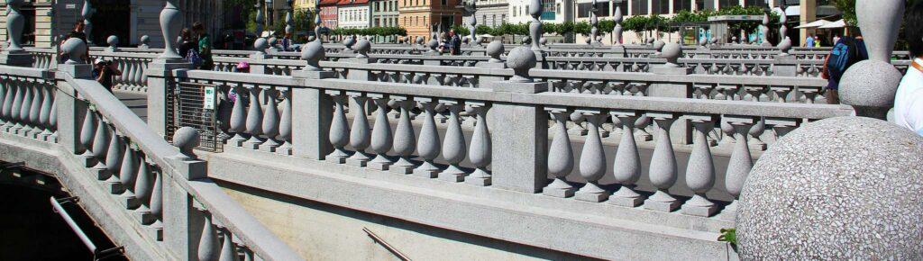 Достопримечательность Любляны — Тройной мост