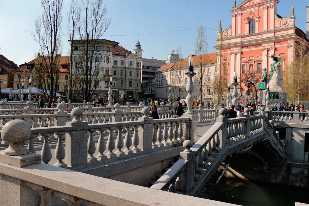 Инфо о Тройном мосте, Любляна