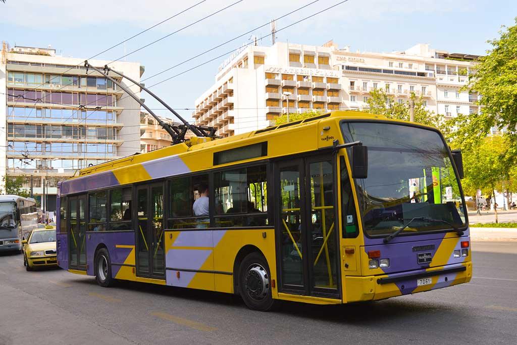 Троллейбусы Афин