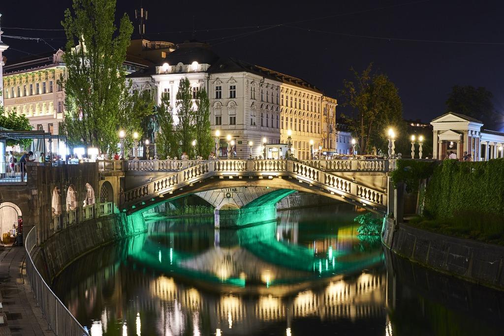 История Тройного моста Любляны