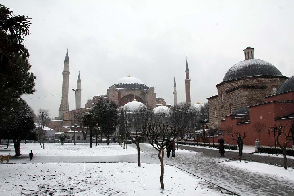 Погода зимой в Турции