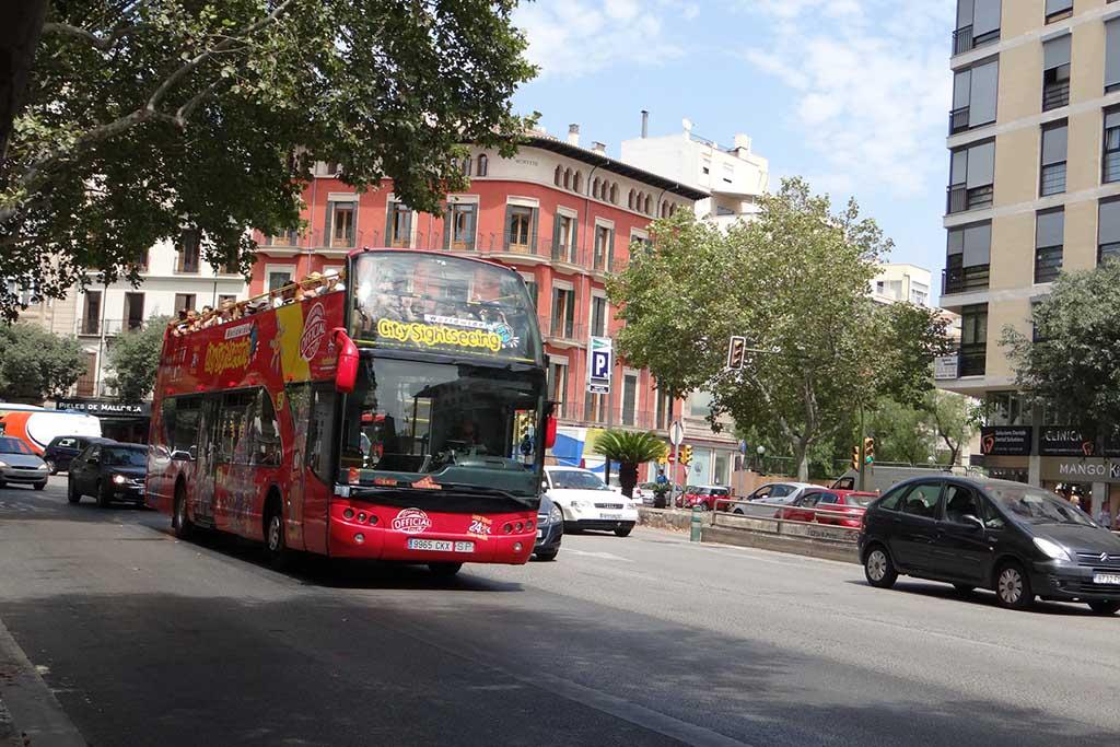 Туристический автобус Пальмы, Майорка