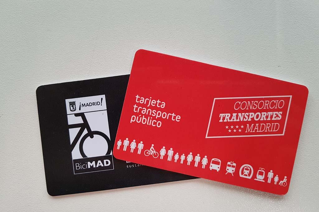 Проезд в общественном транспорте в Мадриде