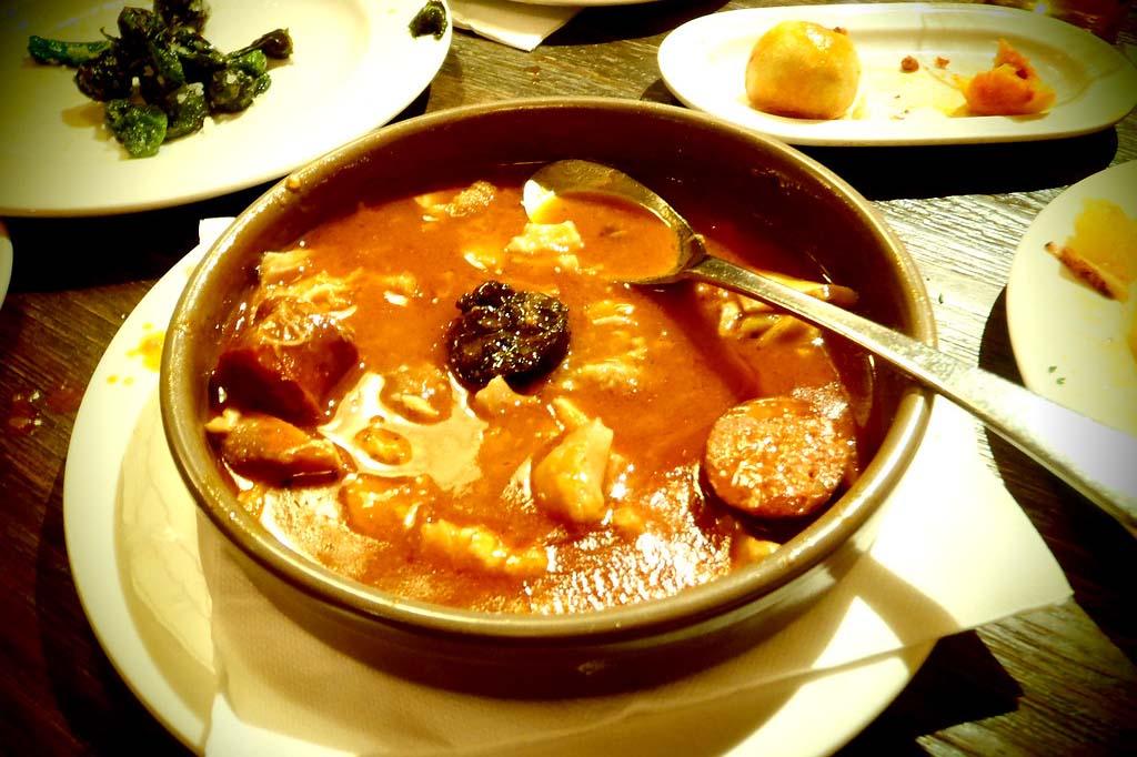 Блюда Мадрида — callos a la Madrilena