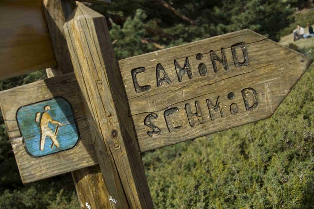 Туристический маршрут в Серседилья — тропа из долины Порта до Сенда Шмидта