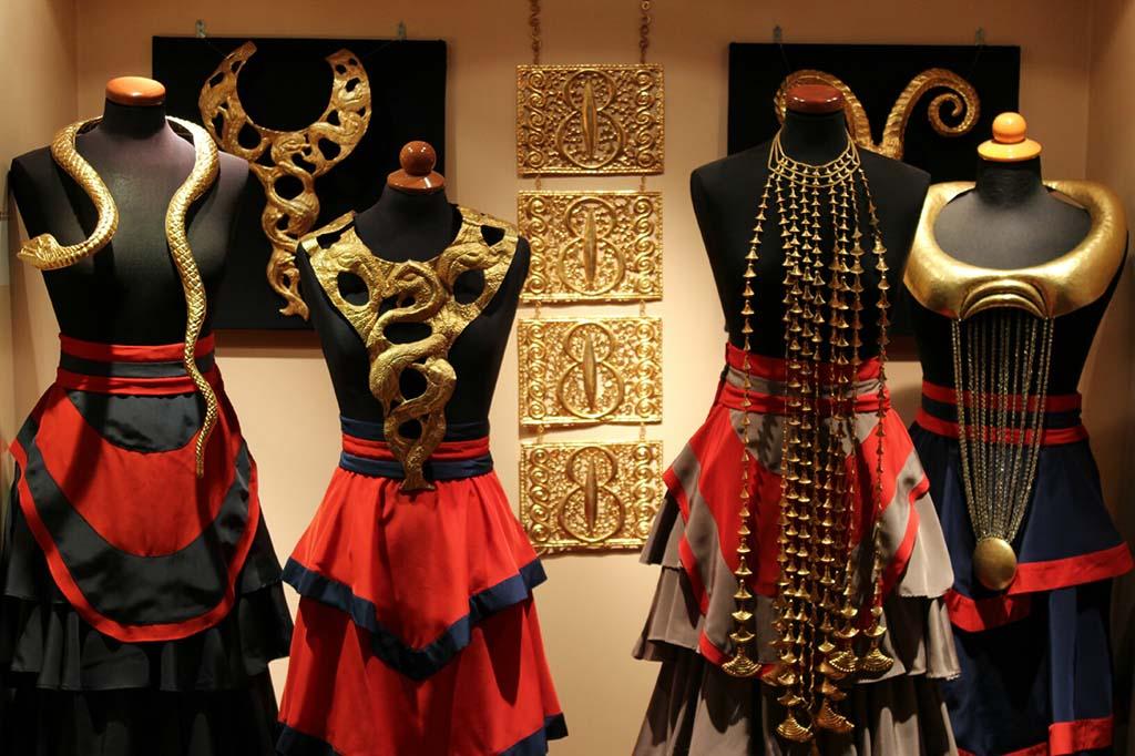 Музей ювелирных изделий Илиаса Лалауниса, фото украшений