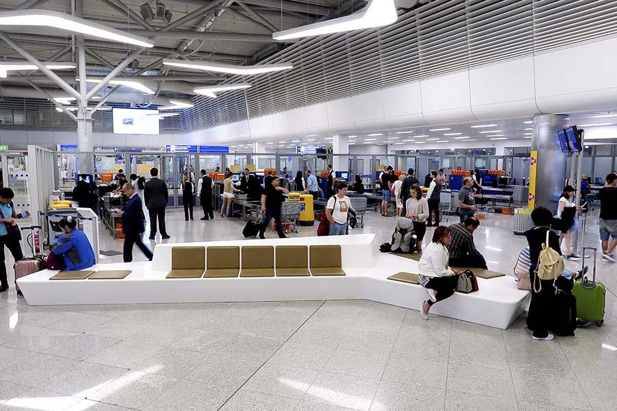 Международный аэропорт в Афинах, Греция