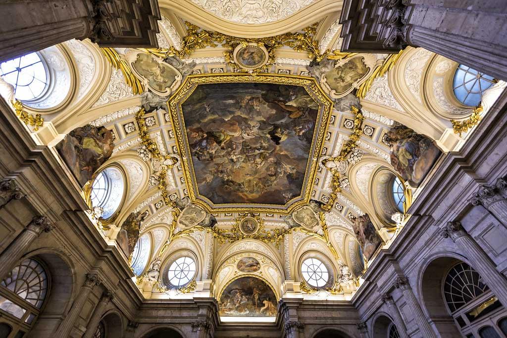 Потолок в Королевском дворце, Мадрид