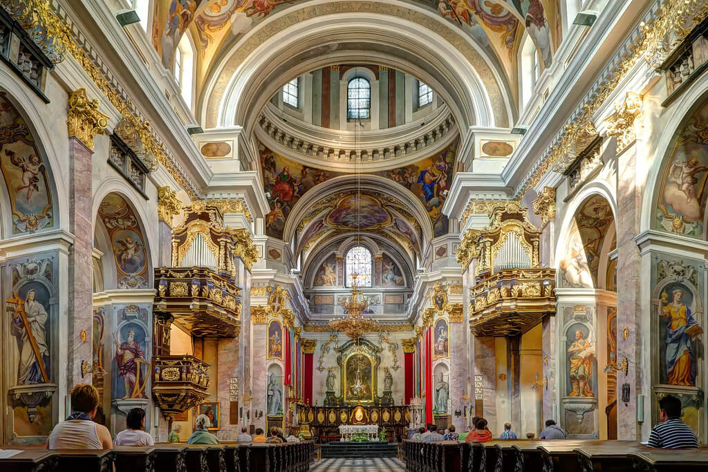 Достопримечательность Любляны —церковь св.Николая