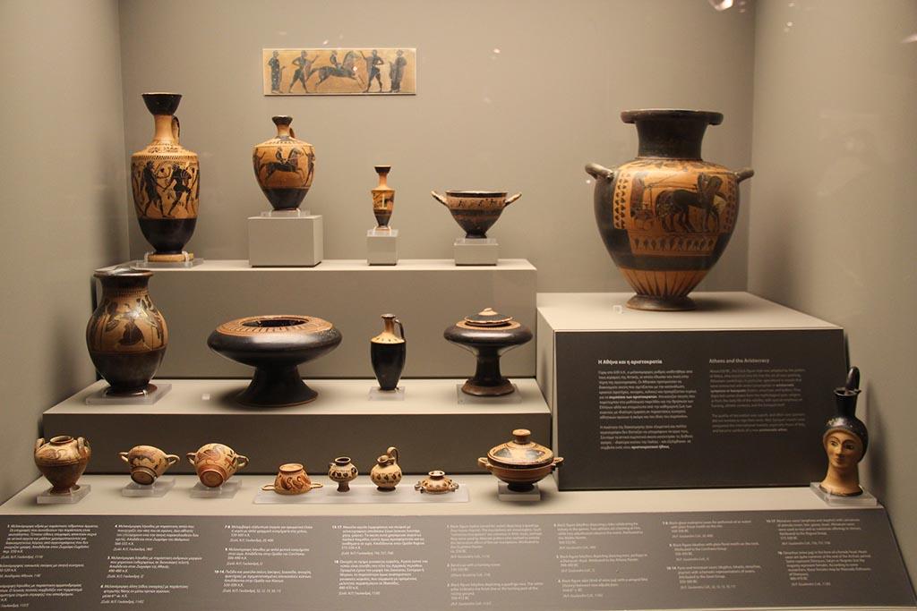 Музей кикладского искусства в Афинах, фото экспонатов