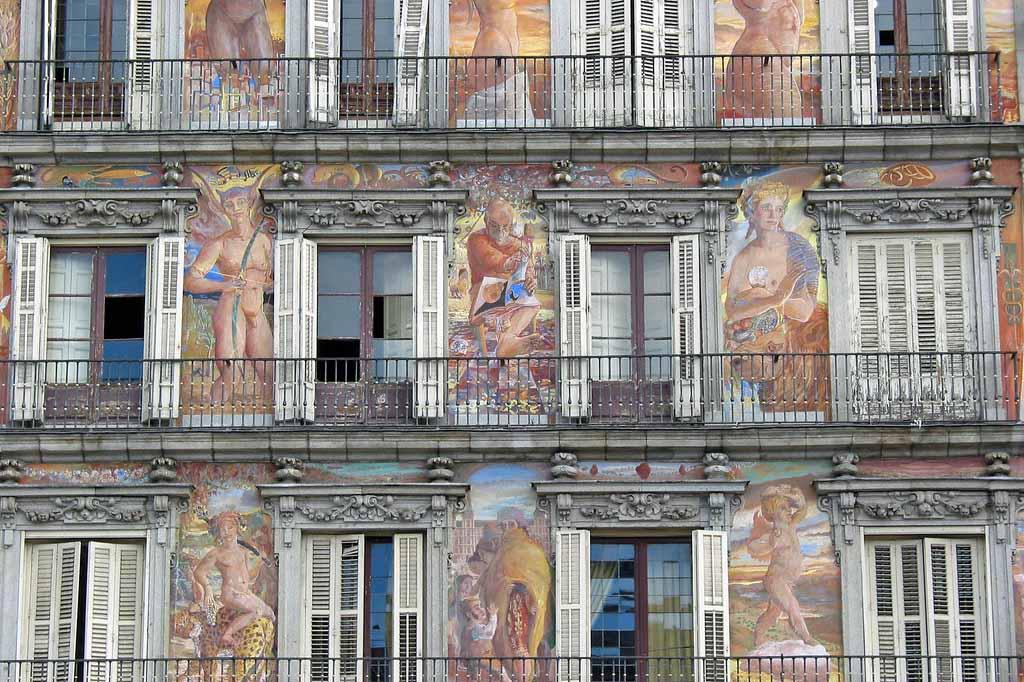 Архитектура Пласа-Майор, Мадрид