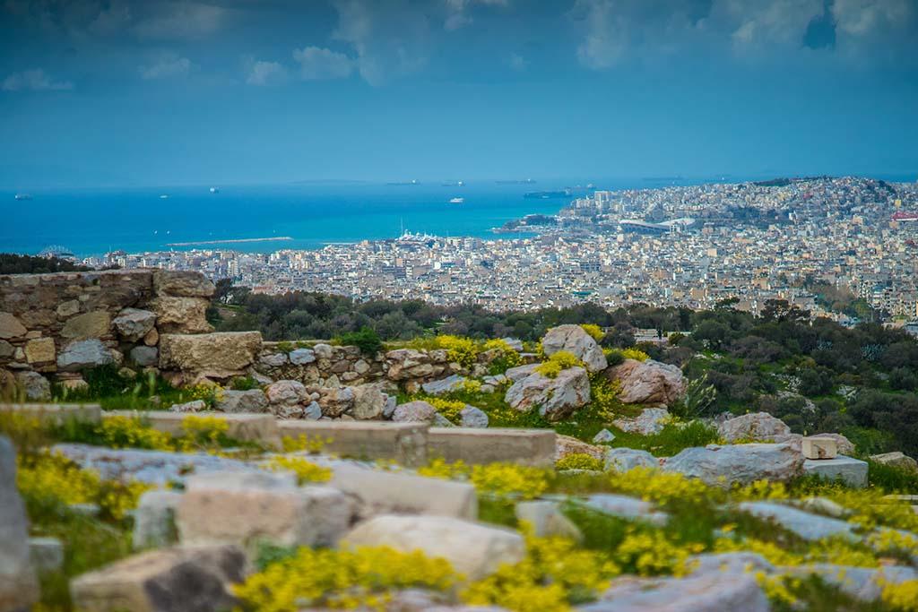 Погода в Афинах в апреле
