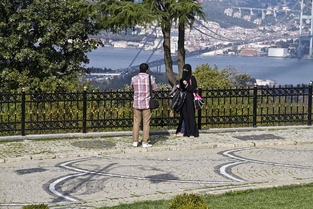 Смотровая площадка, мечеть Чамлыджа, Стамбул